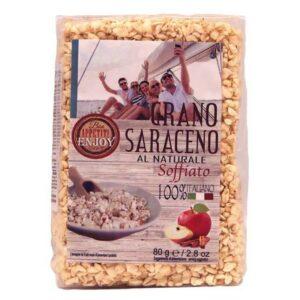 GRANO SARACENO NATURALE SOFFIATO 80g