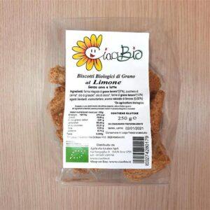 biscotti di grano al limone 250gr